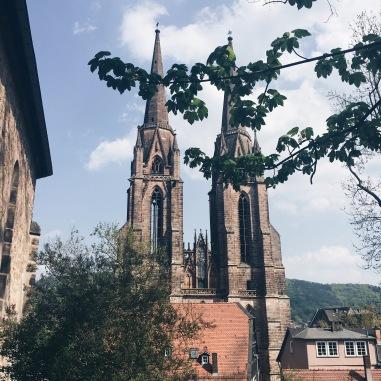 Blick auf Elisabethkirche